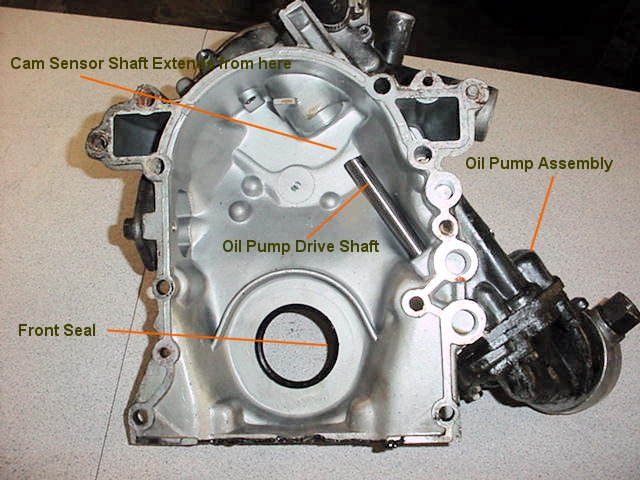 Front Cover/Oil Pump